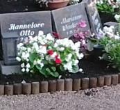 Grabstätte Gärtner, Dauergrabpflege, Grab Erneuerung